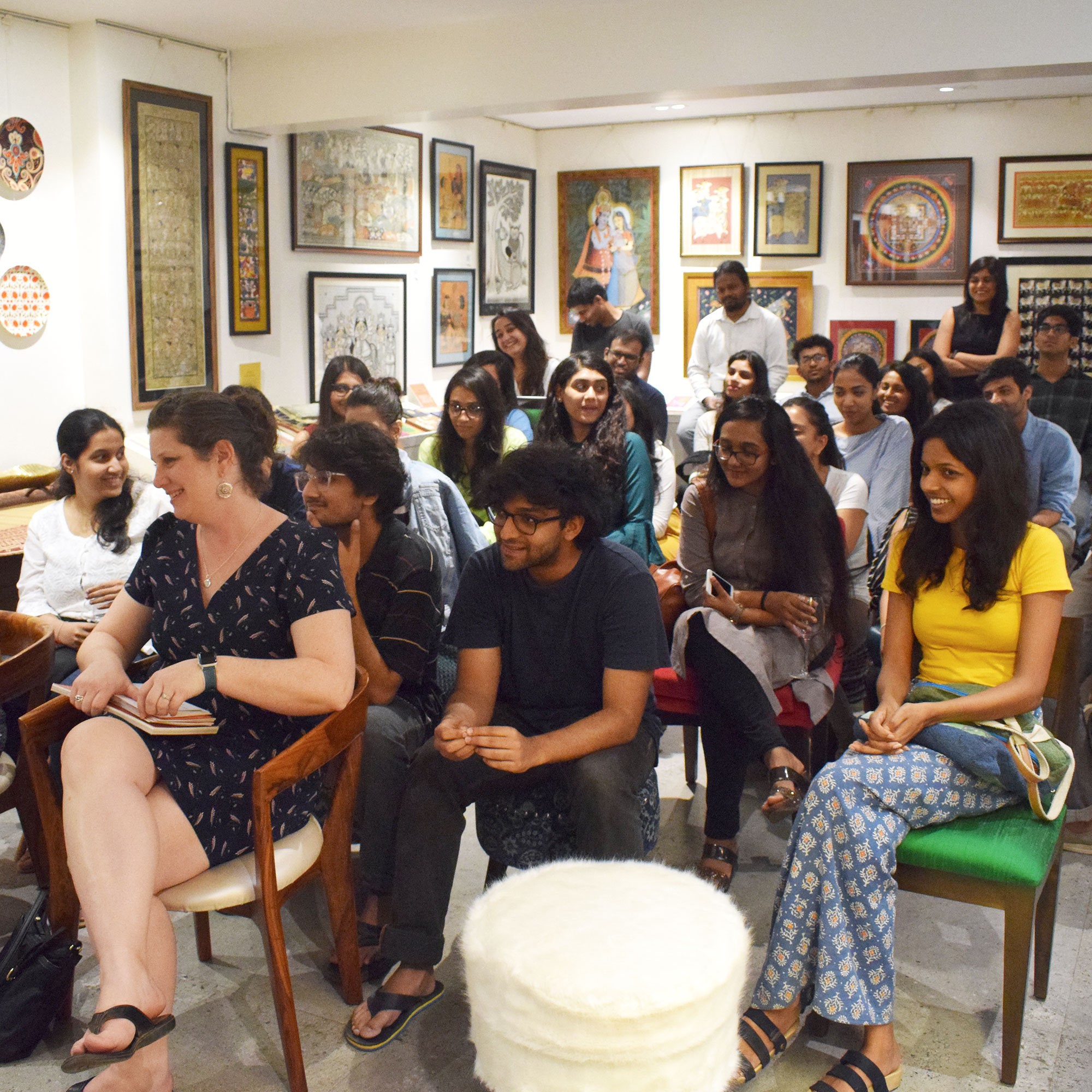 30 of the youngest and brightest minds in the field of design from across Mumbai joined us at The Baaya Store for an insightful session with faculty from Syracuse University